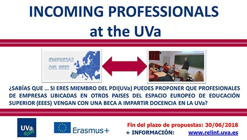 Inomming professionals at the UVa